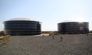 Pyla village potable water tanks station refurbishment